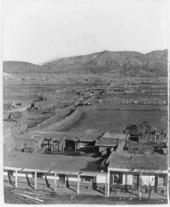 santa fe 1883 looking east