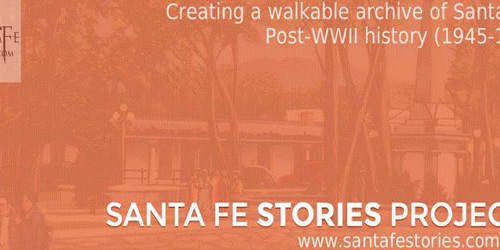 Santa Fe Stories Project Get's Mixed