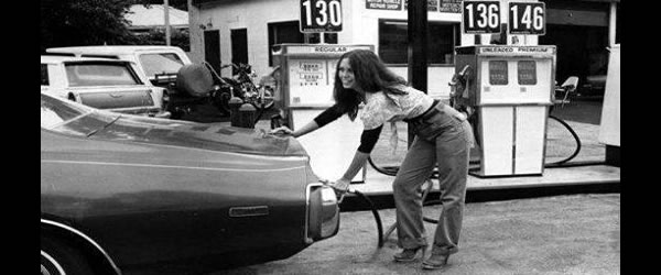 Pumping Gas Behind the License Plate