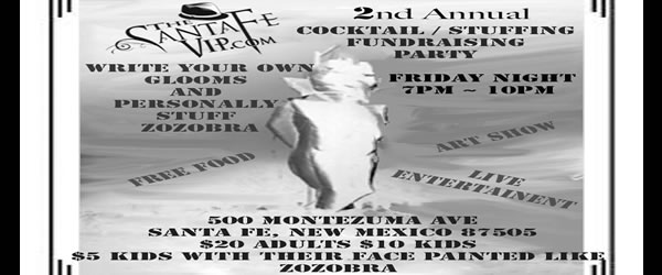2nd Annual VIP Zozobra Cocktail Party