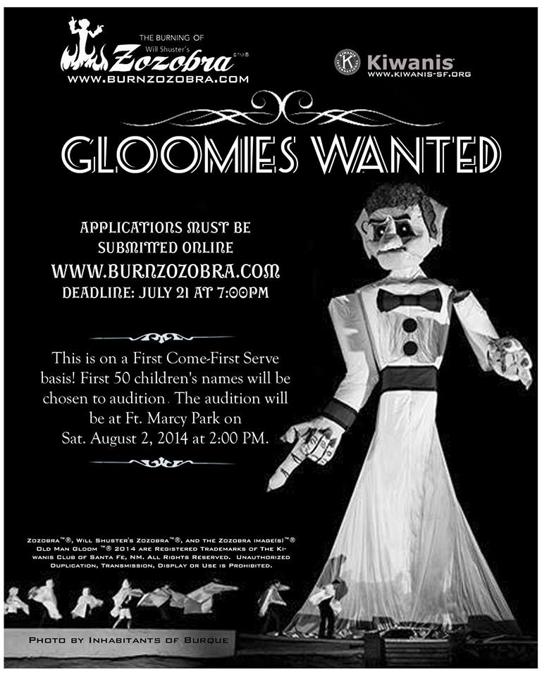 gloomies wanted