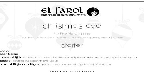 Christmas at El Farol