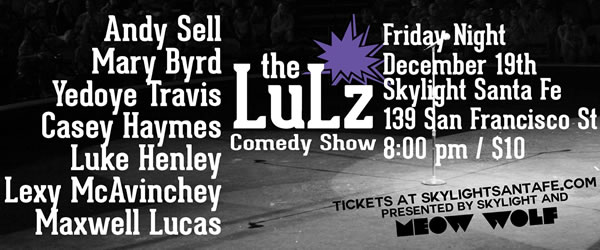 The Lulz Comedy Show