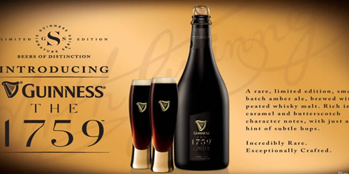 GUINNESS THE 1759 AMBER ALE