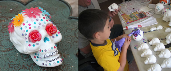 Sugar Skull Decorating