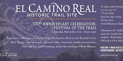 El Camino Real Historic Trails