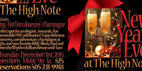 NYE at The High Note