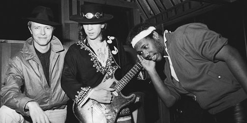 David Bowie finds Stevie Ray Vaughn