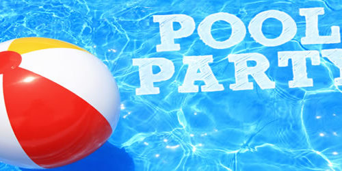 Pool Party at The Lodge