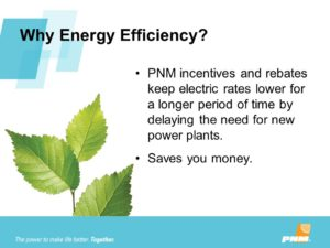 PNM Retrofit Rebate Program