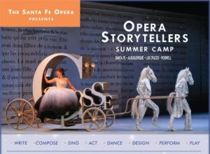 Opera storytellers Summer Camp