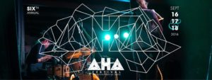 AHA FESTIVAL OF PROGRESSIVE ARTS
