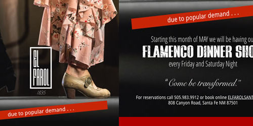 El Farol Flamenco Dinner Show