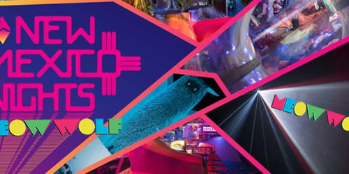 New Mexico Nights at Meow Wolf