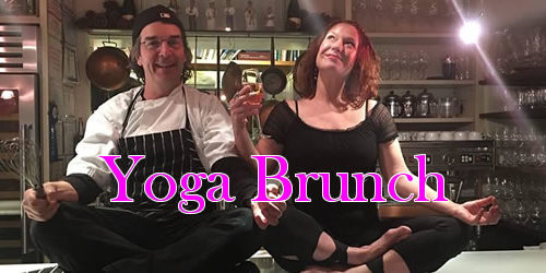 Yoga and Champagne Brunch at Joseph's