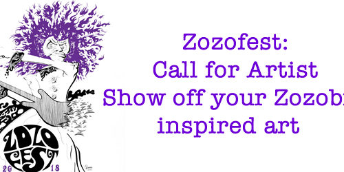 Zozofest Call for Artist