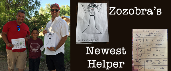 Zozobra's Newest Helper