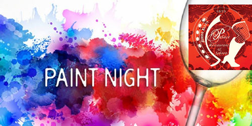 Paint Night at the Palace