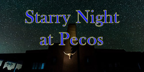 Starry Night Sky at Pecos