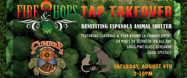 Fire and Hops Tap Takeover
