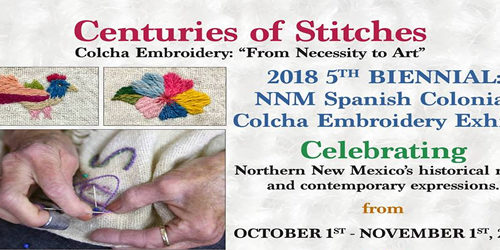 """Colcha Embroidery: """"From Necessity to Art"""""""