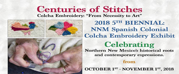 "Colcha Embroidery: ""From Necessity to Art"""