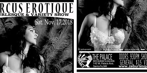 Zircus Erotique Burlesque & Variety Show