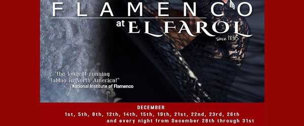 Christmas Flamenco at El Farol
