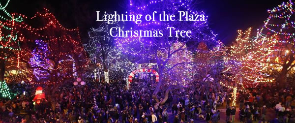 Christmas Tree Lighting on the Plaza