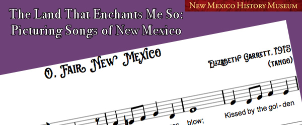 Picturing Popular Songs of New Mexico
