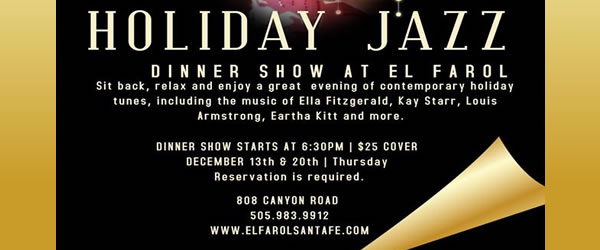 Holiday Jazz Dinner Show