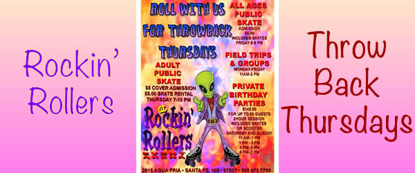 Throwback Thursdays at Rockin' Rollers