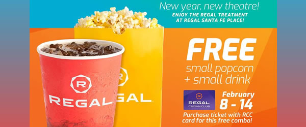 Regal Treatment at Regal Cinemas