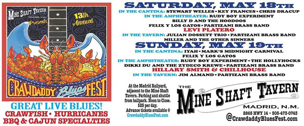 13th Annual CrawDaddy Blues Fest