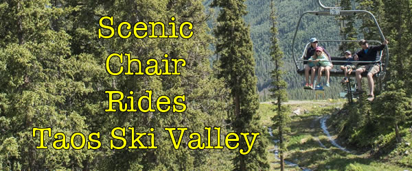 Taos Ski Valley Scenic Chair Rides