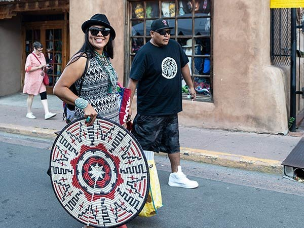 98TH ANNUAL SANTA FE INDIAN MARKET ON THE PLAZA!