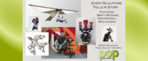 Every Sculpture Tells A Story @ Pop Gallery | Santa Fe | New Mexico | United States