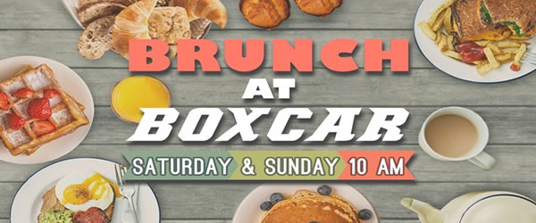 Brunch at Boxcar