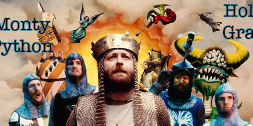 Monty Python and the Holy Grail 50th anniversary