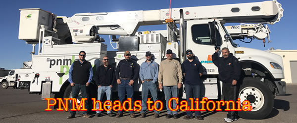 PNM travels to California