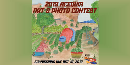 ACEQUIA ART AND PHOTO CONTEST