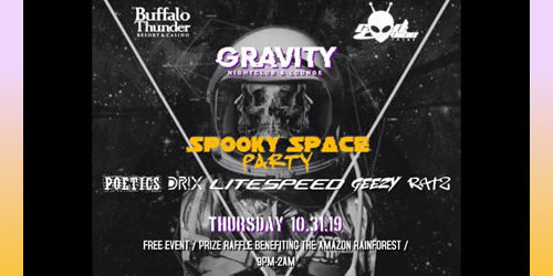 Spooky Space Party
