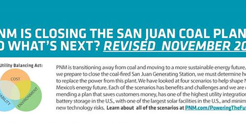 San Juan Generating Station not in the best interest of customers