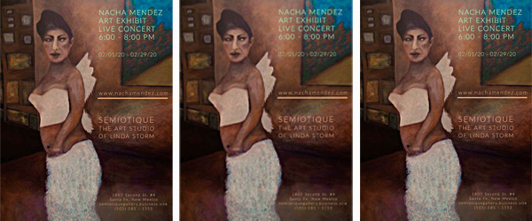 Nacha Mendez Art Exhibit