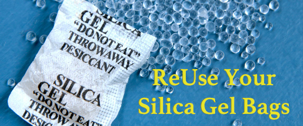Save Your Silica Gel Bags