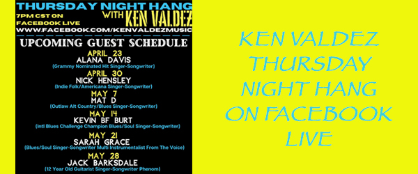 Ken Valdez Thursday Night Hang