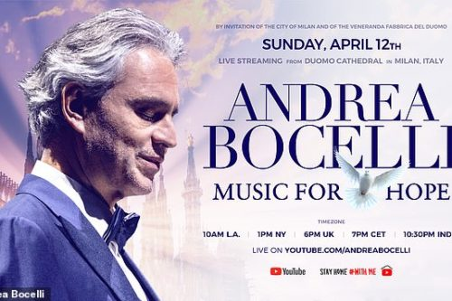 Andrea Bocelli Easter Day Show