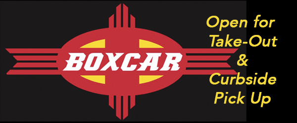 Boxcar is Open for Take-Out