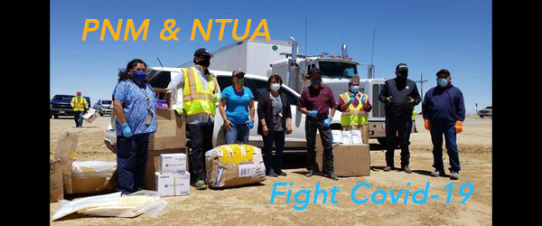 PNM and the Navajo Tribal Utility Authority team up to fight against    COVID-19