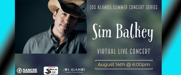 Sim Balkey VIRTUALLY LIVE